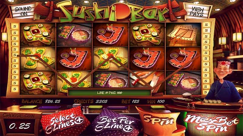 Sushi Slot Machine