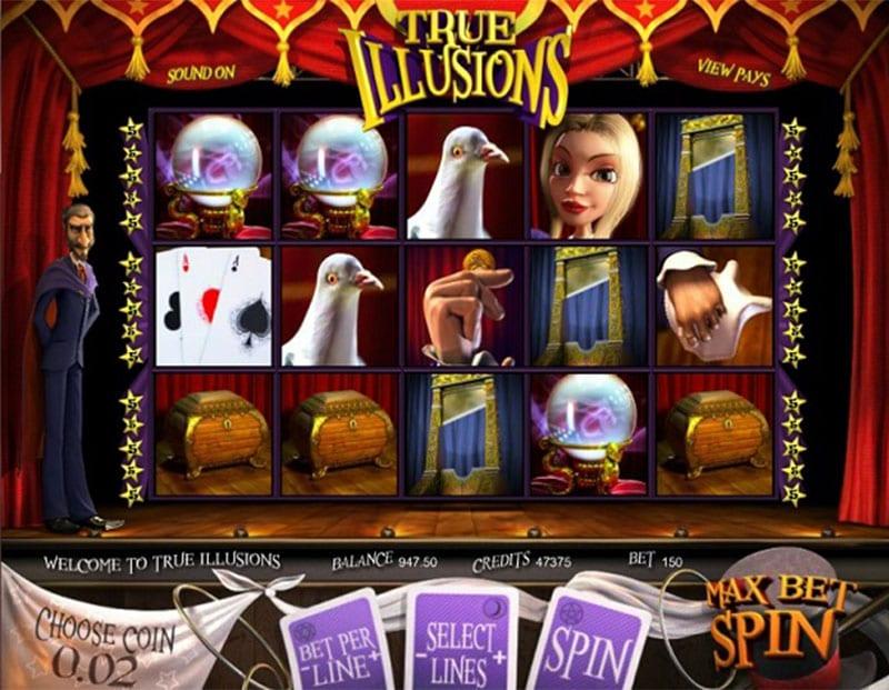 True Illusions Slot Machine